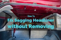 Sagging Car Ceiling Repair