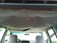 Car Ceiling Fabric Falling. 20 Headliner Screws Car Roof ...