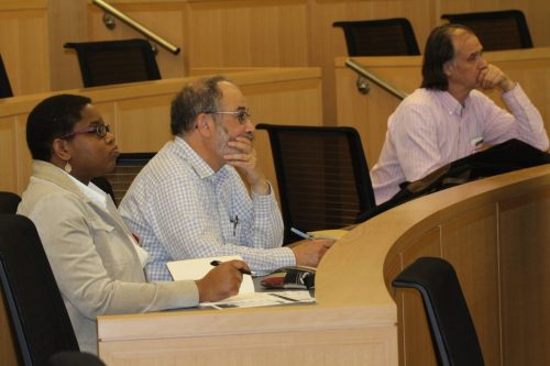 Faculty attend afternoon  breakout sessions.