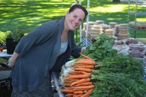 Katherine at Farmer's Market