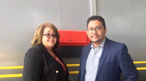 Joyce and Sujith at Viessmann in Germany