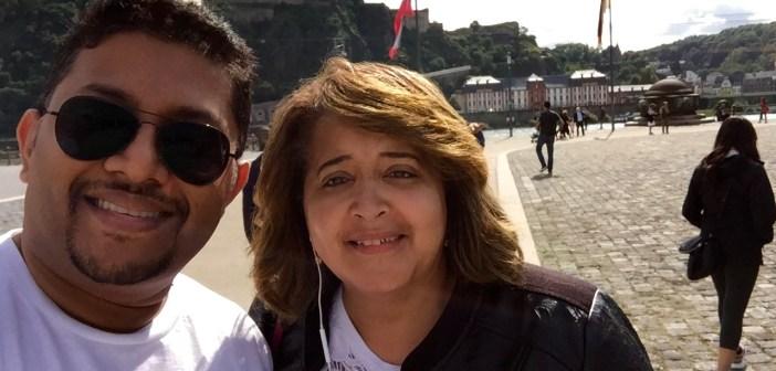 Joyce Tyrrell and Sujith Mathew