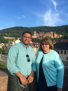 Sujith and Joyce in Heidelberg