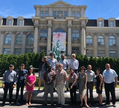 Innovation Walk Group Summer 2018