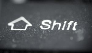 image of shift key