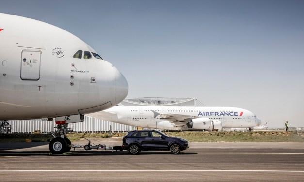 Air France και Porsche, ένα νέο ρεκόρ Guinness