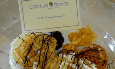 Διάκριση στο εστιατόριο «Ελιά» του ξενοδοχείου Cactus Royal