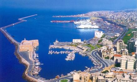 Έργα στο λιμάνι του Ηρακλείου