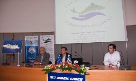 Ο ωκεανογράφος-ερευνητής Fabien Cousteau στα Χανιά
