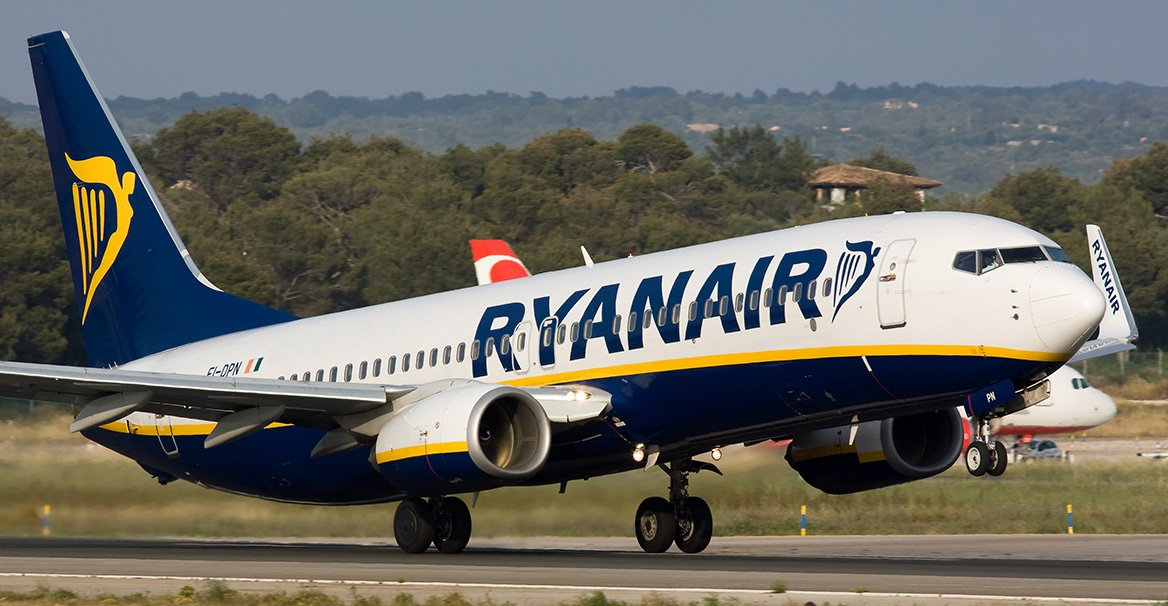 Ryanair, αυξημένη κίνηση Απρίλιο