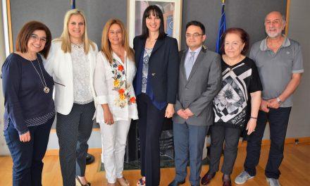 Παρουσία  της Υπουργού Τουρισμού κας  Έλενας Κουντουρά συνεδρίασε το Επιστημονικό Συμβούλιο Διασφάλισης Ποιότητας της Τουριστικής Εκπαίδευσης του Υπουργείου Τουρισμού