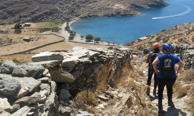 Από τα μονοπάτια της Κύθνου περνάνε οι προσδοκίες των φορέων του νησιού για αύξηση της τουριστικής κίνησης