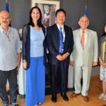 Μεγάλη επιτυχία η ανάληψη της διοργάνωσης της «Ιαπωνικής Εβδομάδας 2019» στην Αθήνα – Συνάντηση της Υπουργού Τουρισμού ΄Έλενας Κουντουρά με τον πρέσβη της Ιαπωνίας Yasu (Yasuhiro) Shimizu