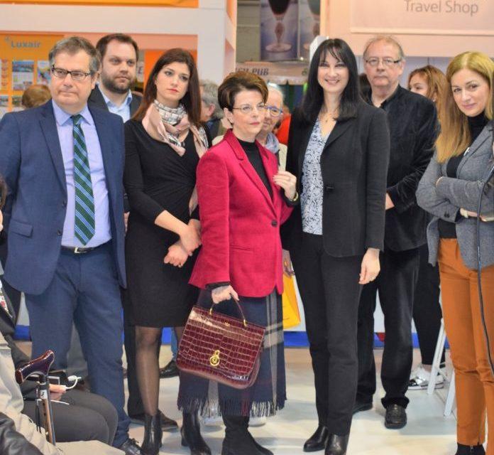 Συναντήσεις της Υπ. Τουρισμού Έ. Κουντουρά στην έκθεση Salon des Vacances στις Βρυξέλλες για τη διατήρηση της δυναμικής του ελληνικού τουρισμού το 2019