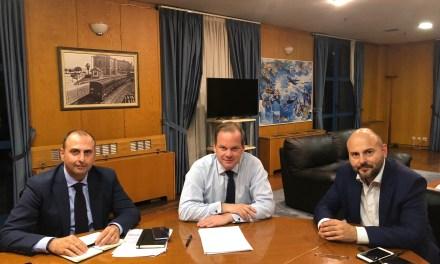 Συνάντηση εργασίας εφ' όλης της ύλης των θεμάτων που απασχολούν το τεχνικό κόσμο της χώρας στο Υπουργείο Υποδομών και Μεταφορών