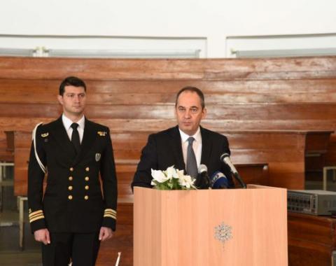 Ο Υπουργός Ναυτιλίας και Νησιωτικής Πολιτικής εγκαινίασε τη Σχολή Πλοιάρχων Ε.Ν.