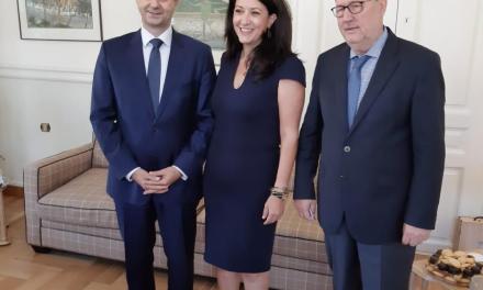 Επίσκεψη του υπουργού Τουρισμού κ. Χάρη Θεοχάρη στην Τρίπολη