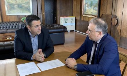 Συνάντηση του Περιφερειάρχη Κεντρικής Μακεδονίας Απόστολου Τζιτζικώστα με τον Υπουργό Εσωτερικών Τάκη Θεοδωρικάκο για αντιπλημμυρικά έργα σε Θεσσαλονίκη και Χαλκιδική