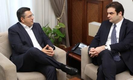 Συνάντηση Α. Τζιτζικώστα και Κ. Πιερρακάκη για τη λειτουργία στούντιο κινηματογραφικών παραγωγών στη Θεσσαλονίκη και για την ψηφιακή αναβάθμιση των υπηρεσιών