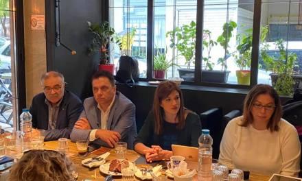 Ενδιαφέρουσα και εποικοδομητική συνάντηση με έμπειρους δημοσιογράφους που καλύπτουν το ρεπορτάζ τουρισμού,ειχε η  Κατερίνα Νοτοπούλου.