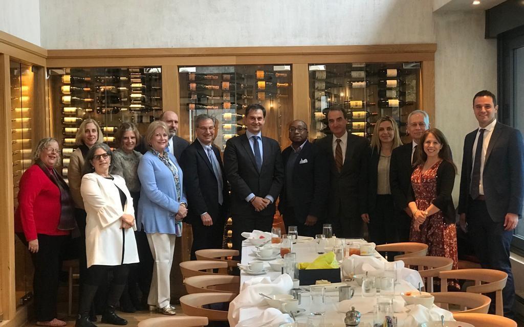 Τρίτη Ημέρα Επίσκεψης του Υπουργού Τουρισμού κ. Χάρη Θεοχάρη στην Ουάσιγκτον