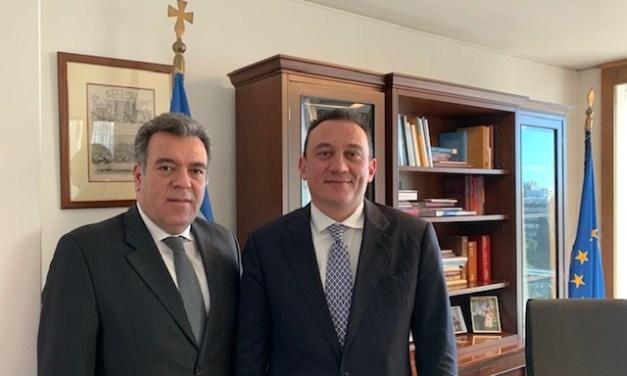 «Συνάντηση του Υφυπουργού Τουρισμού, κ. Κόνσολα με τον Υφυπουργό Εξωτερικών, κ. Βλάση»