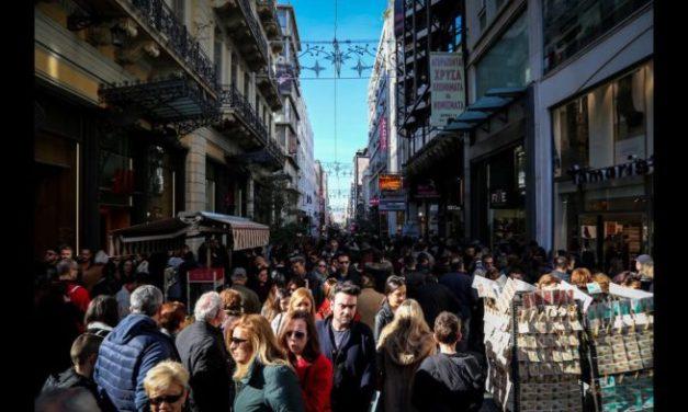Σε χαμηλότερα επίπεδα ο χριστουγεννιάτικος τζίρος για τις μισές επιχειρήσεις