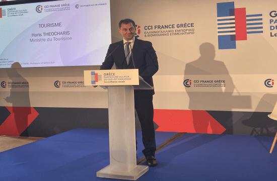 Χάρης Θεοχάρης: Επενδυτικές ευκαιρίες στον ελληνικό τουρισμό