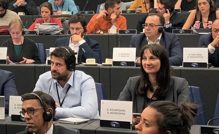 Τροπολογίες από  Κουντουρά και Γεωργούλη για τη σύνδεση του βιώσιμου τουρισμού με τον πολιτισμό  στην Έκθεση της Επιτροπής TRAN του Ευρωπαϊκού Κοινοβουλίου