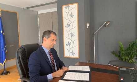 Υπογραφή Κοινού Προγράμματος Δράσης Ελλάδας – Ηνωμένων Αραβικών Εμιράτων στον τομέα του τουρισμού από τον Υπουργό Τουρισμού κ. Χάρη Θεοχάρη