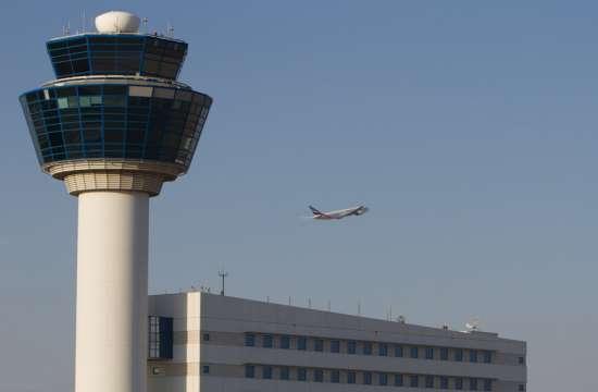 -88% η επιβατική κίνηση τον Ιούνιο στο αεροδρόμιο της Αθήνας