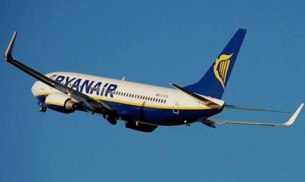 Μείωση πωλήσεων κατά 95% για τη Ryanair