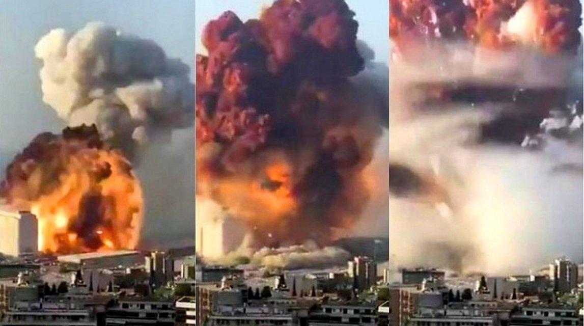 Ισχυρή έκρηξη συγκλόνισε τη Βηρυτό – Δεκάδες νεκροί, χιλιάδες τραυματίες και εικόνες καταστροφής (φωτογραφίες, βίντεο)