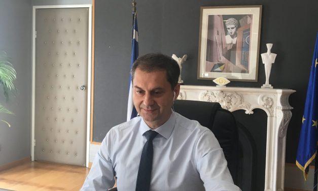 Συνέντευξη του Υπουργού Τουρισμού κ. Χάρη Θεοχάρη στο Sky News