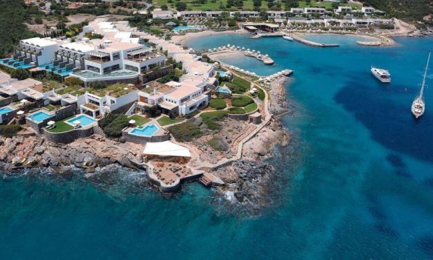 Χωροθέτηση της μαρίνας «Elounda Hills» για 202 σκάφη και superyachts στην Ελούντα της Κρήτης από τους Υπουργούς Τουρισμού κ. Χάρη Θεοχάρη και Περιβάλλοντος και Ενέργειας κ. Κωστή Χατζηδάκη