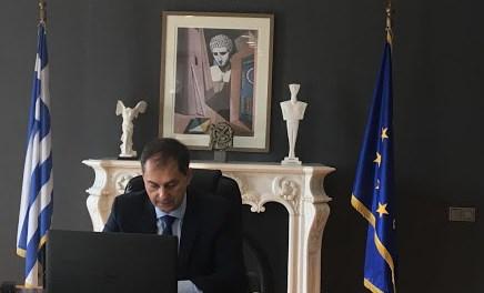 Συνέντευξη Υπουργού Τουρισμού Χ. Θεοχάρη
