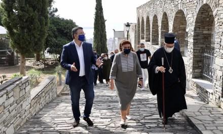 Α. Τζιτζικώστας: «Φωτίζουμε τα Τείχη της Θεσσαλονίκης και τον Λευκό Πύργο στα πρότυπα του φωτισμού της Ακρόπολης και του Παρθενώνα»