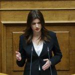 Νοτοπούλου: Καμία μέριμνα για τον Τουρισμό στο σχέδιο Εθνικής Ανάκαμψης