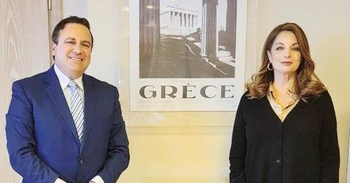 Συνάντηση Αν. Γκερέκου και Κ. Μαριδάκη – Τι συζητήθηκε