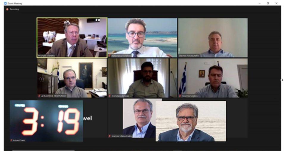 Κυριάκος Κώτσογλου :Ασφαλής και άμεση επανεκκίνηση του Τουρισμού στην Κρήτη για το 2021.