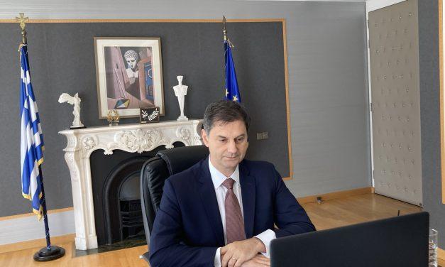 Επέμεινε στο πιστοποιητικό εμβολιασμού ο Θεοχάρης στην έκτακτη τηλεδιάσκεψη των υπουργών Τουρισμού της ΕΕ
