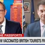 Θεοχάρης στο CNN: Κερδίζει έδαφος στην ΕΕ το πιστοποιητικό εμβολιασμού