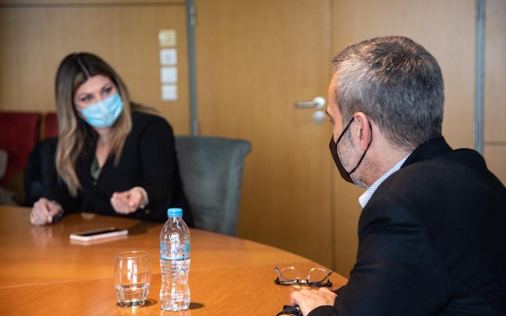 Συναντήσεις Σοφίας Ζαχαράκη στη Θεσσαλονίκη για το άνοιγμα του Τουρισμού και την τουριστική εκπαίδευση