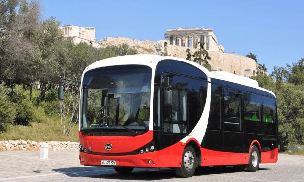 Το 2022 τα πρώτα ηλεκτρικά λεωφορεία στην Αθήνα