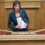 Κ.Νοτοπούλου : Σε άγνοια η κυβέρνηση για τα ζητήματα των εργαζομένων του τουρισμού.