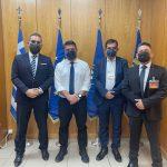 Hellenic Seaplanes: Συνάντηση με τον υφυπουργό Άμυνας Νίκο Χαρδαλιά
