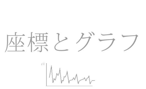 座標とグラフ