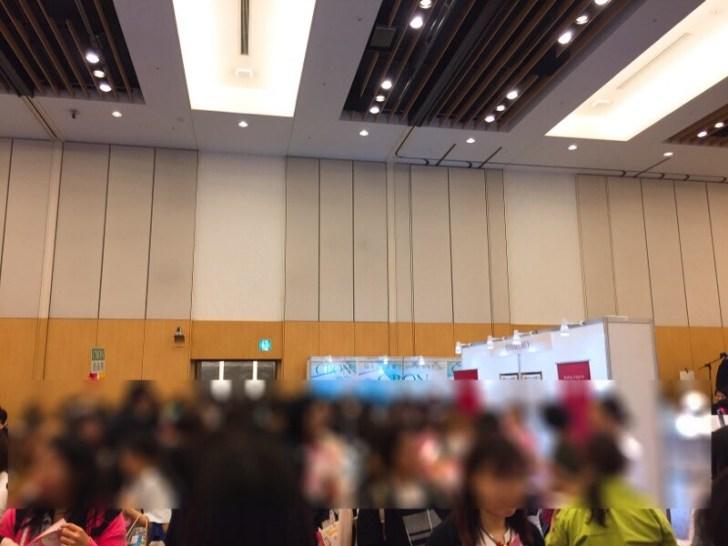 WOMAN EXPO会場内