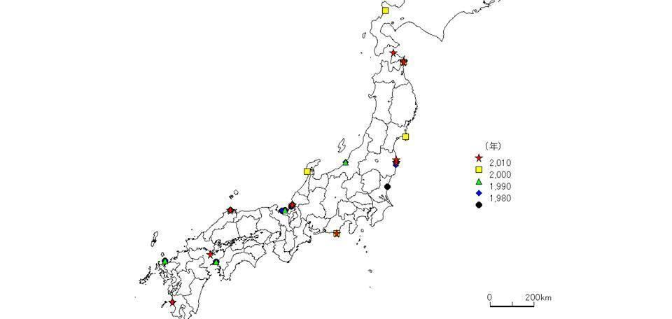 全国発電所マップ(新潟県高校地歴研究会2018:その2): いとちり