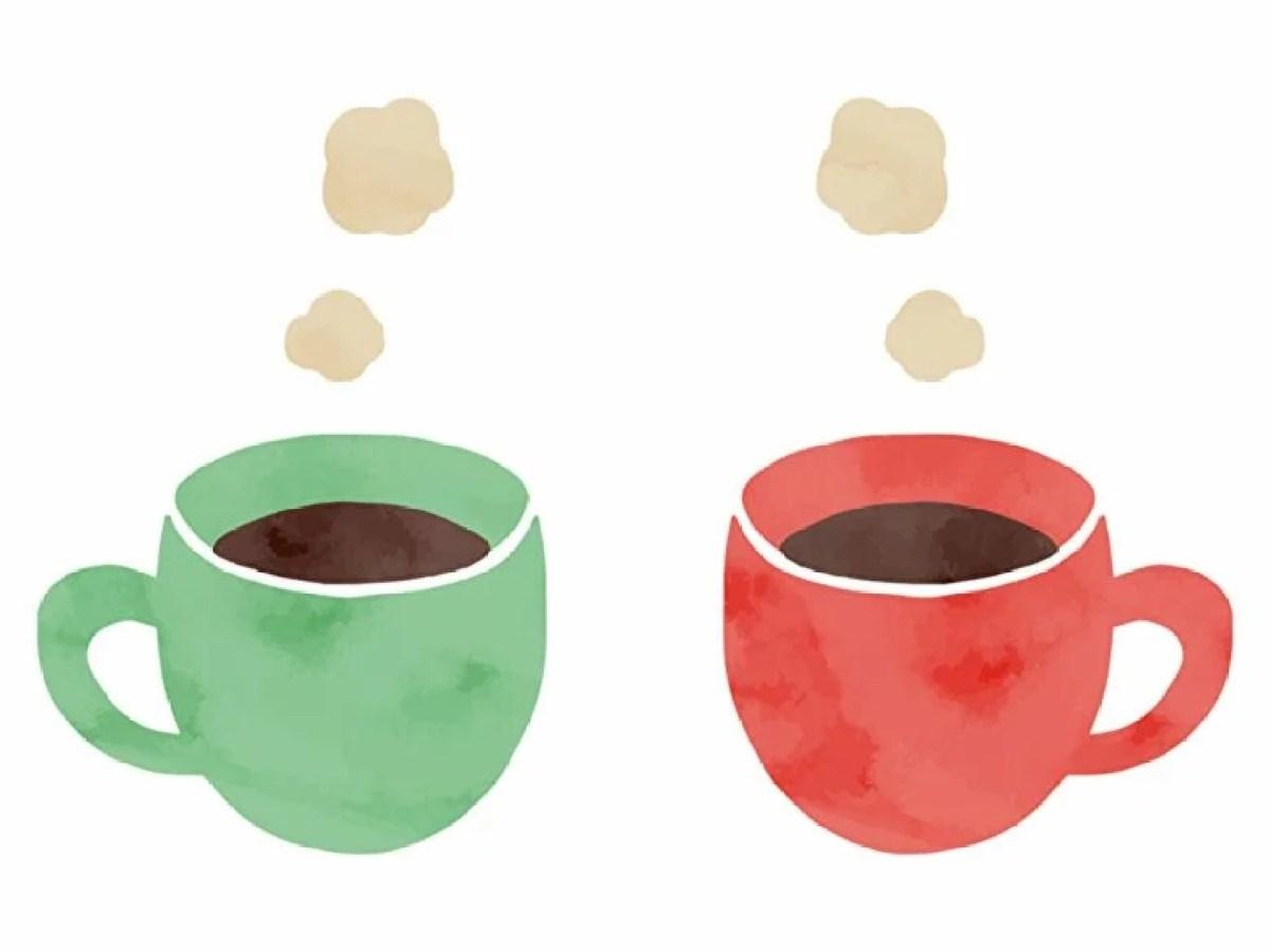 コーヒーブレイクのイラスト